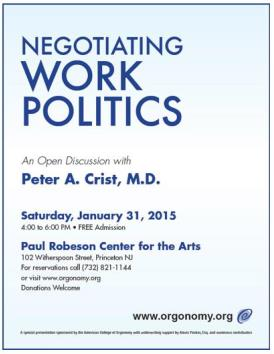Negotiating Work Politics